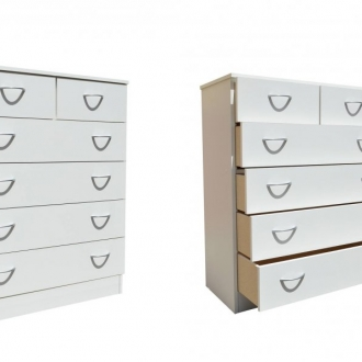 5 Drawer Split Chest